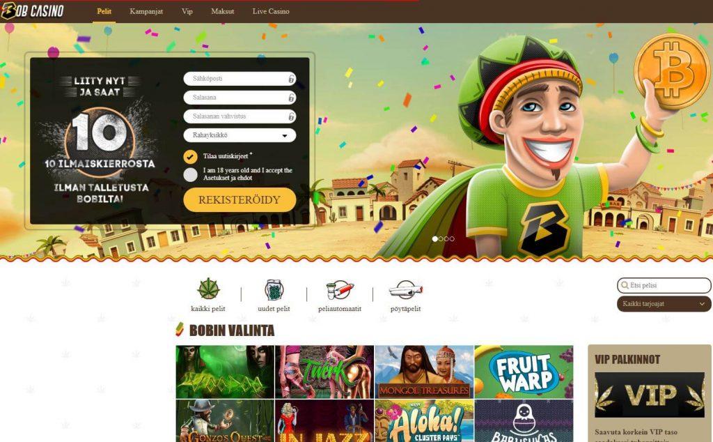 Bobcasino on vuoden 2017 nettikasino